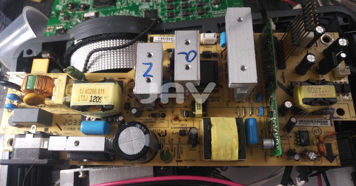 Sửa board nguồn máy chiếu giá rẻ